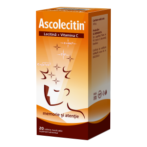 Ascolecitin x 20 comprimate