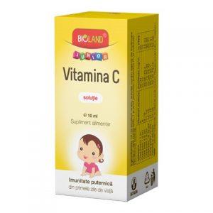 Bioland Vitamina C Jr. solutie 10 ml