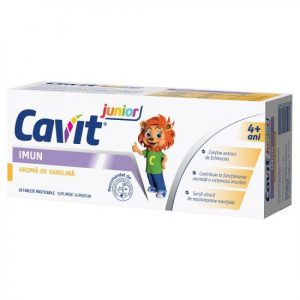 Cavit Jr. Imun vanilie x 20 tablete masticabile