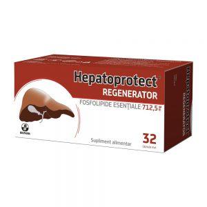 Hepatoprotec Regenerator 32 capsule moi