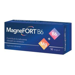 Magnefort B6 x 50 de drajeuri
