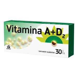 Vitamina A+D2 x 30 capsule moi